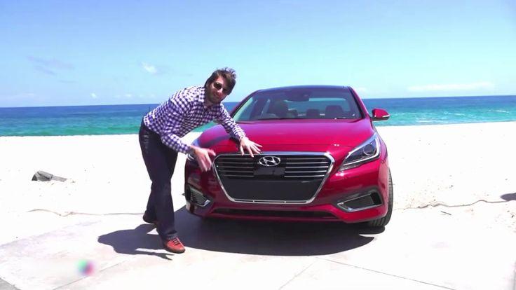 Hyundai sonata 2017 prueba y test de manejo review en español - Caracter...