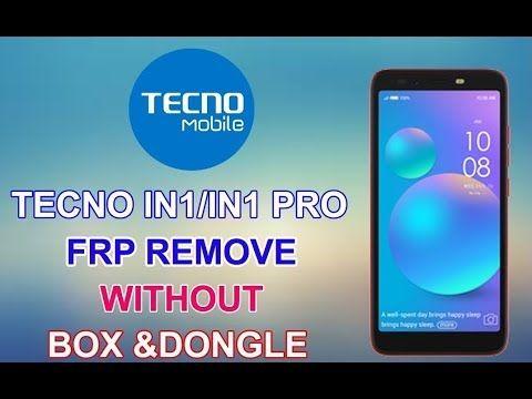 Tecno IN1 Pro FRP (Google Account) Lock Remove Done | Tecno