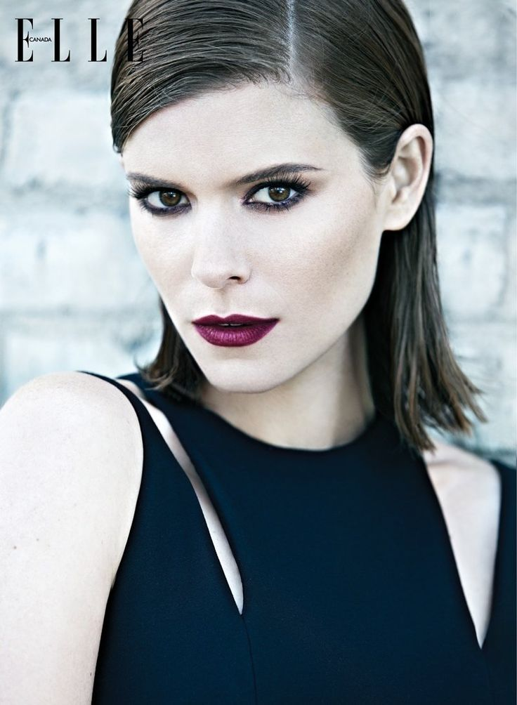 kate mara elle canada5 Kate Mara Poses for Elle Canadas February 2014 Cover Story