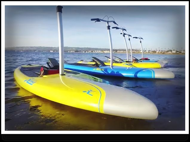 Hobie Mirage Eclipse Paddle Surfing Paddle Boarding Surfboard