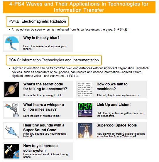 nasa science lesson plans - photo #2