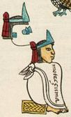 Moctezuma II was the ninth ruler of the Aztec Empire. It was during his reign that the first contact occurred with the Europeans, and the empire reached it's maximum size.