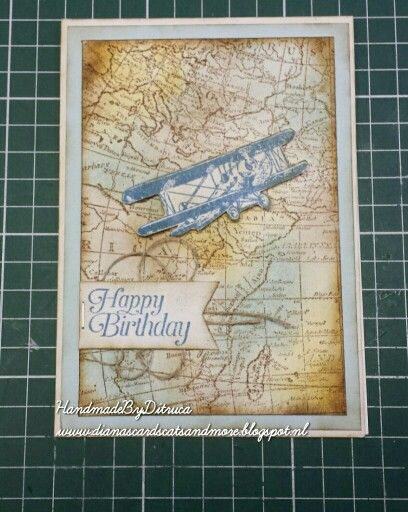 Stampin Up Sky is the Limit www.dianascardscatsandmore.blogspot.nl