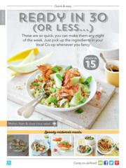 Check out this recipe for Melon, ham and cous cous salad from Co-op Food magazine May/June 2016