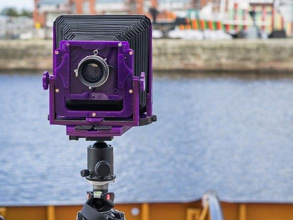 The Chroma is a lightweight affordable easy-to-use 54 field camera