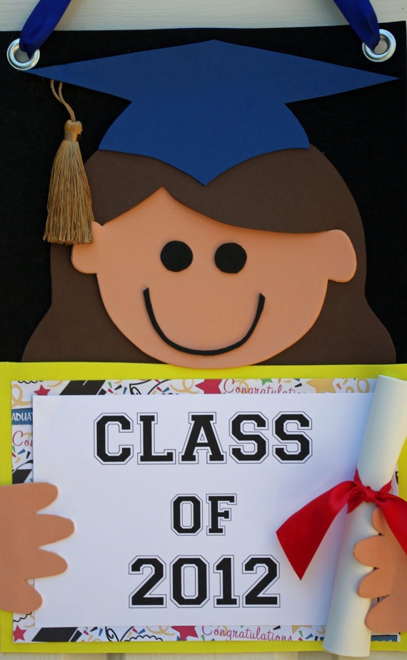 Graduation Door Sign  Graduation Party by HatterandHareEvents, $22.00