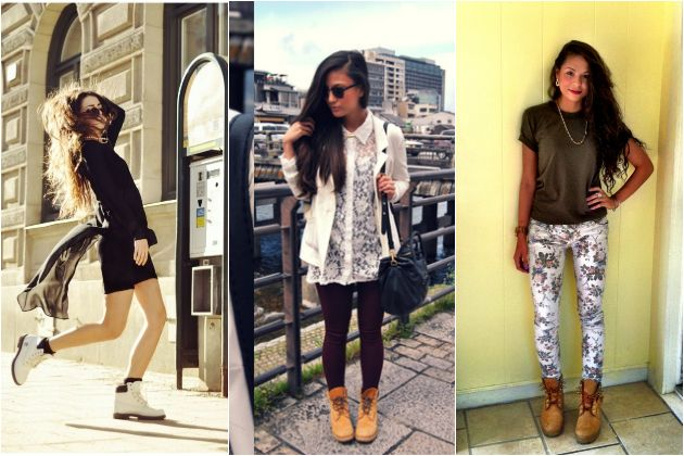 Wearing Timberland Boots With Shorts Style, timberland outfits,