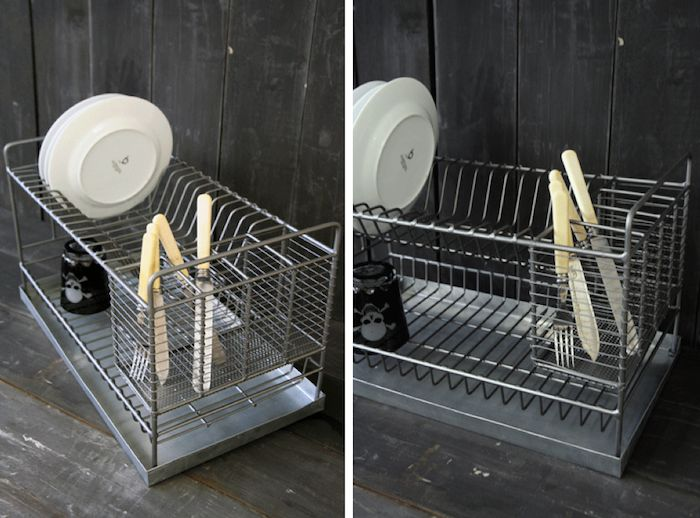 Kitchen Dish Drainers, Kitchen Drying Rack And Dish