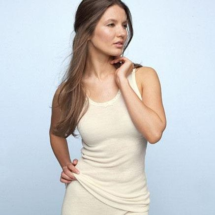Harvey Woods Wool Camisole just the thing to keep you warm this winter