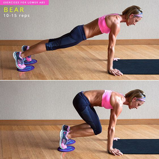 I did this and lost 2 pants sizes in just 2 weeks!! 8 Exercises to Target Your Lower Abs | YouBeauty