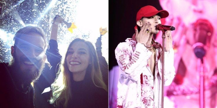 Most subscribed YouTuber PewDiePie and his girlfriend Marzia attend G-Dragon's concert https://www.allkpop.com/article/2017/09/most-subscribed-youtuber-pewdiepie-and-his-girlfriend-marzia-attend-g-dragons-concert