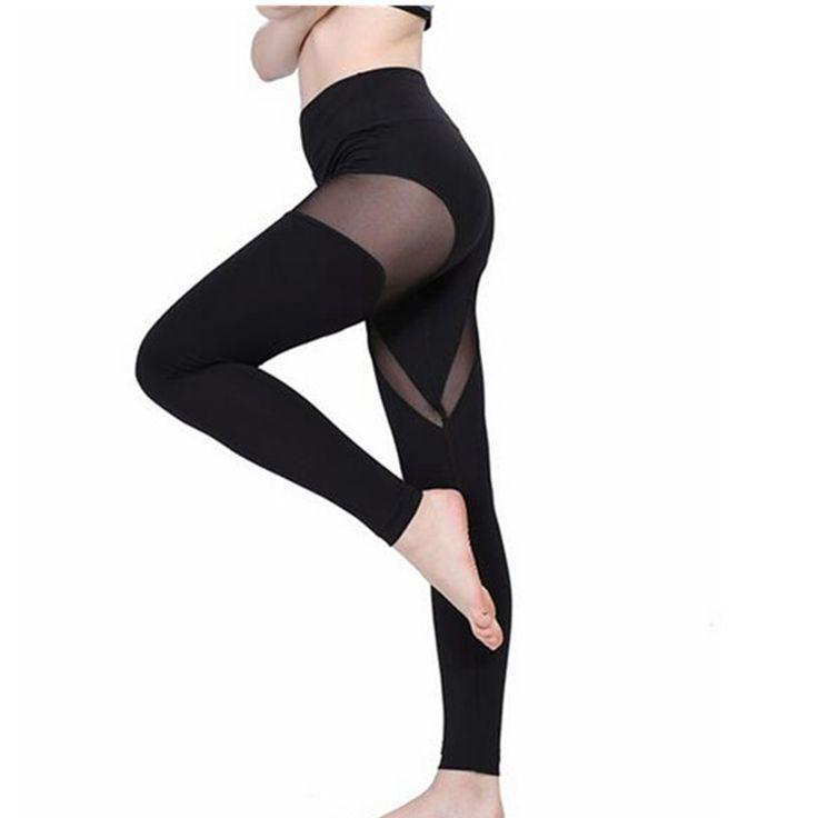 Womens leggings yoga workout sets sexy vrouwen yoga broek grenadine running legging voor vrouwen comfortabele yoga broek yj008(China (Mainland))