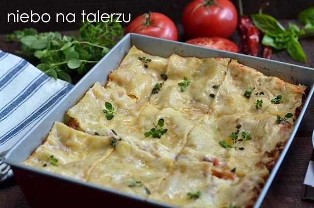 niebo na talerzu: Przepis na lasagne bolognese