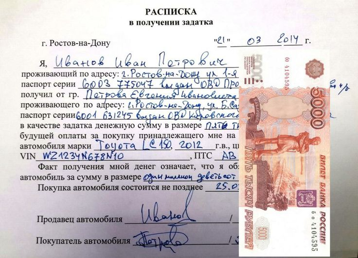 Залог за автомобиль в Ростове