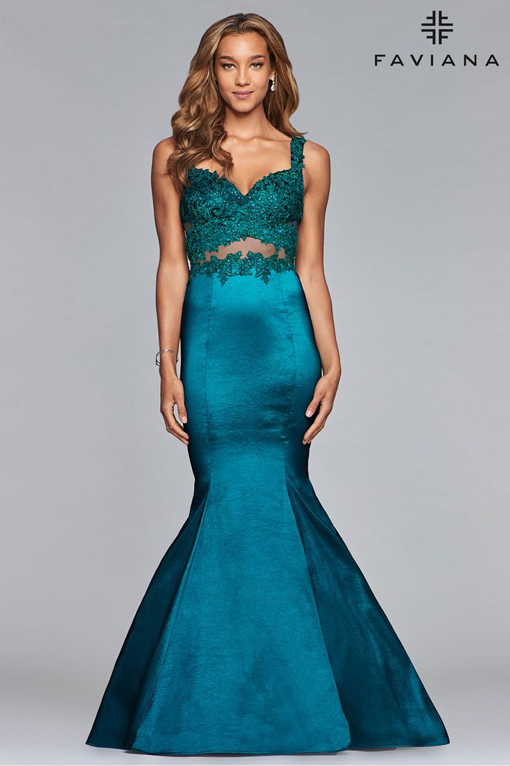 372 best Faviana Dresses images on Pinterest | Prom dresses, Ball ...