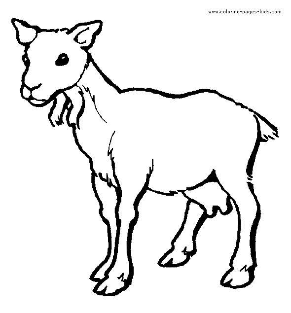 32 Unique Goat Coloring Pages Animal Coloring Pages Farm Animal Coloring Pages Coloring Pages