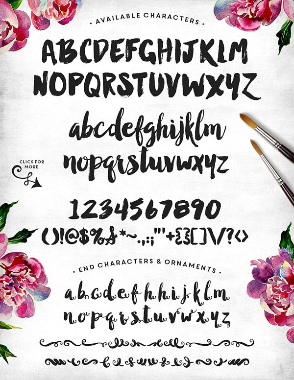 Manhattan Darling Typeface on Behance