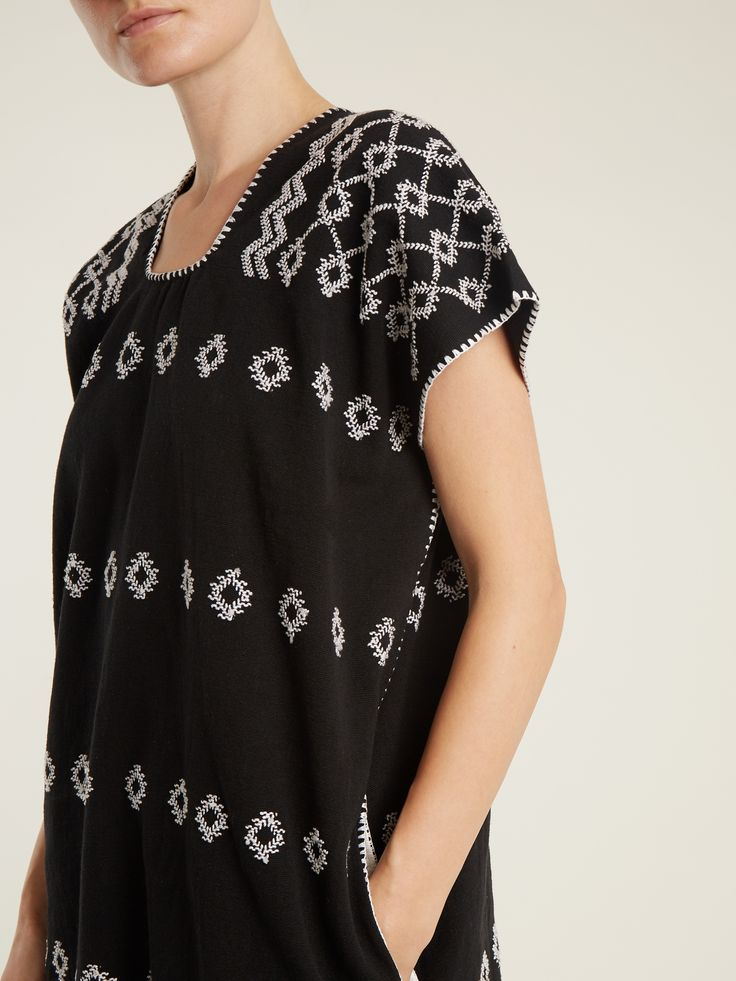 Click here to buy Pippa Holt No.81 embroidered cotton kaftan at MATCHESFASHION.COM