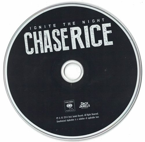 Chase Rice Ignite The Night 2014 CD Professionally Cleaned