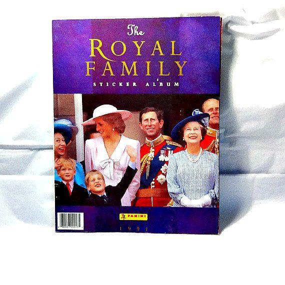 The Royal Family 1991 Panini Sticker Album by TheRoyalBritishFox