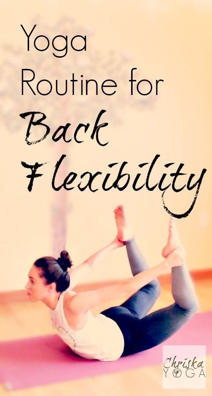DownDog Diary Yoga Keeps you Young: Yoga Routine for Back Flexibility