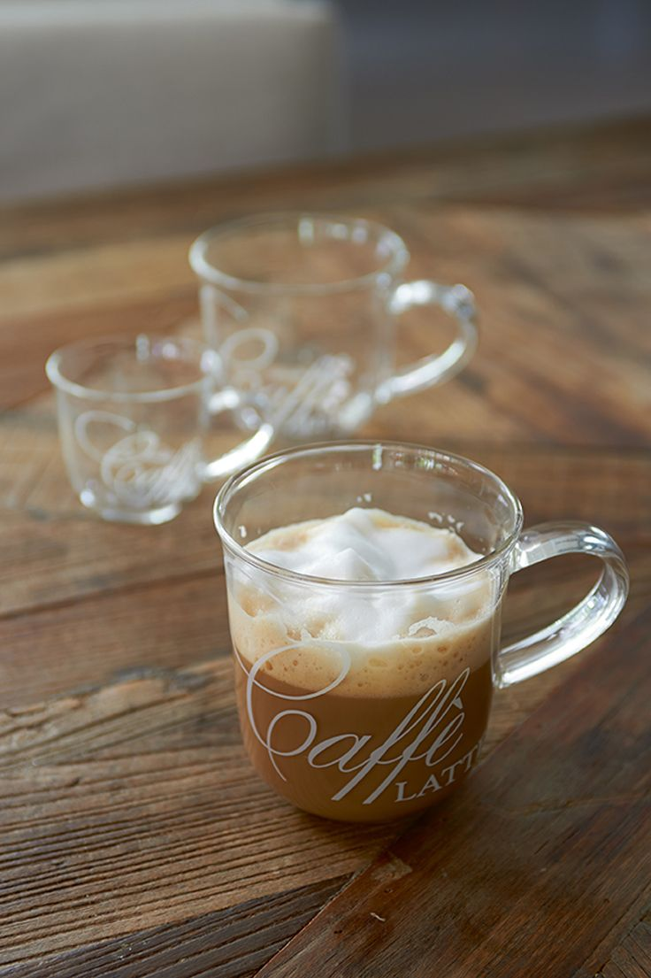 Caffè Latte Glass