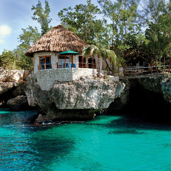 Where I'd rather be: this rock house in Jamaica.
