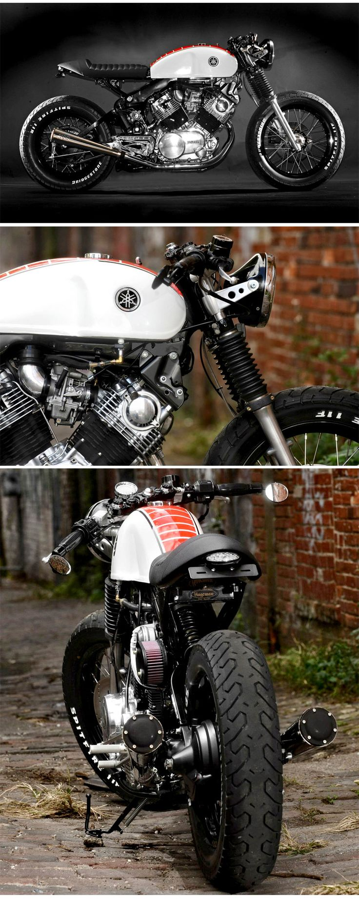 Doc's Chops - Yamaha XV920 Virago http://www.bikeexif.com/yamaha-virago-920