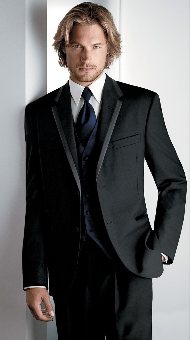 'Aston' 2-Button Notch Tuxedo Jacket by Calvin Klein - Get this jacket with a complete tux rental for just $79