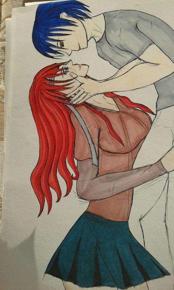 kiss copic markers  Marbella13 DeviantArt Ana Lemos
