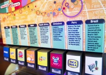 Club Cool in #Epcot - new flavors!