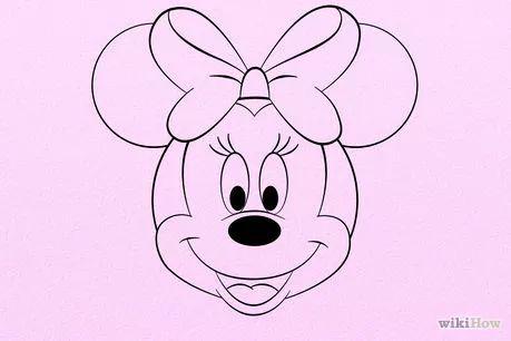 Image intitulée Draw Minnie Mouse Step 8