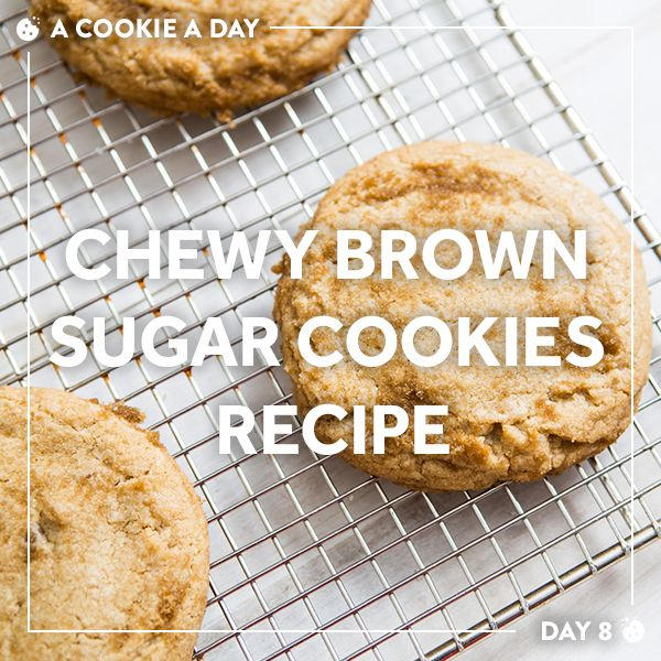 Chewy and gooey with a crackly brown sugar crust.