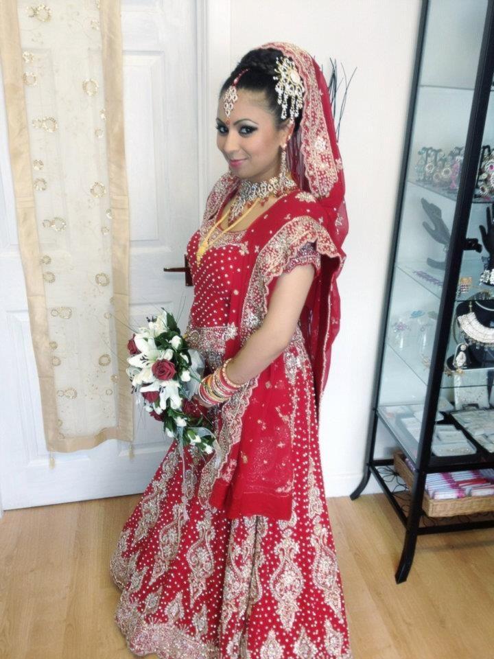 Beautiful bride #makeup #bridal #FarhanaHennaMUA www.farhana.co.uk