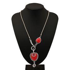 Unique Jewelry - Fashion Bohemia Charm Women Statement Long Bib Collar Bib Necklace Chain Pendant