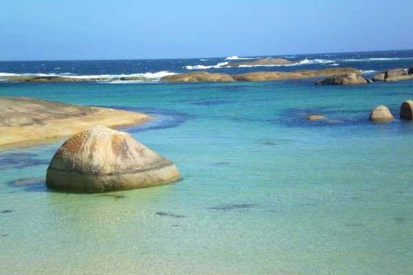 Greens Pool is a beach on the south coast of Western Australia between Denmark and Walpole.