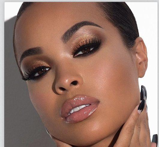 Anastasia Beverly Hills Beatface Makeup Nails Hair