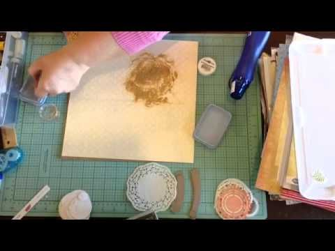 how to make your own embossing mat