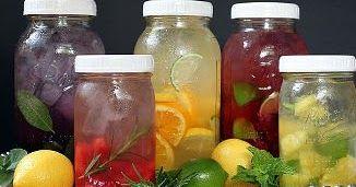 RECEITA: Como fazer água aromatizada probiótica com Kombuchá              imagem:http://goo.gl/nB8ML6        Muitas vezes esquecemos ...