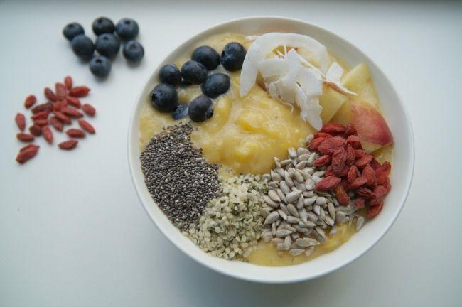Recept: Mango Smoothie Bowl Ontbijt