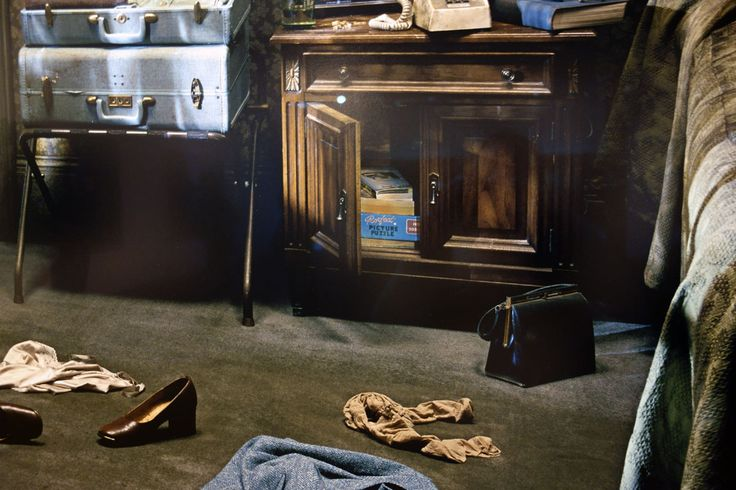Details of one of Gregory Crewdson's works from the series Beneath the Roses (2003-2008) (Photos: Dr Marcus Bunyan)