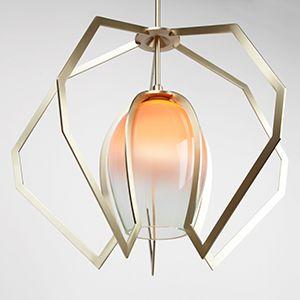 Vise light chandelier.   www.becbrittain.com/vise