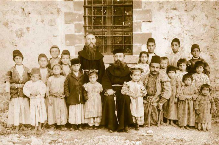 Armenian Catholic children in Antep.