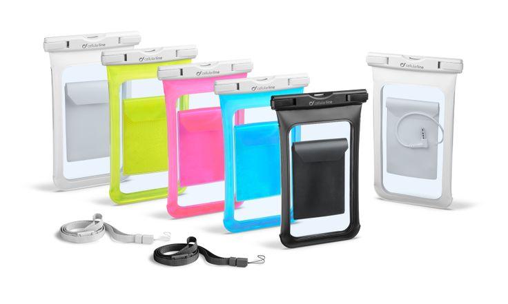 Tanti colori per tutti i gusti! VOYAGER è la custodia impermeabile che protegge il tuo #smartphone da acqua, sabbia e creme solari.  #waterproof #dustproof