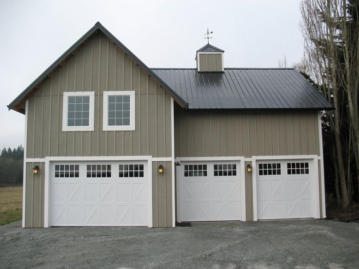 32 best board and batten siding ideas images on pinterest for Pole barn for rv storage