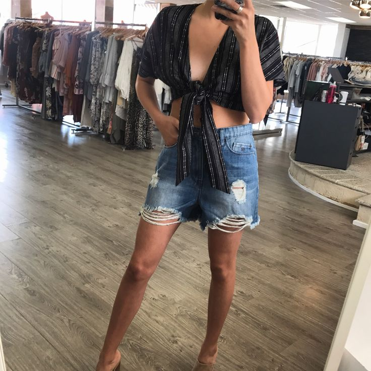 RES Denim - Res String It Out Shorts