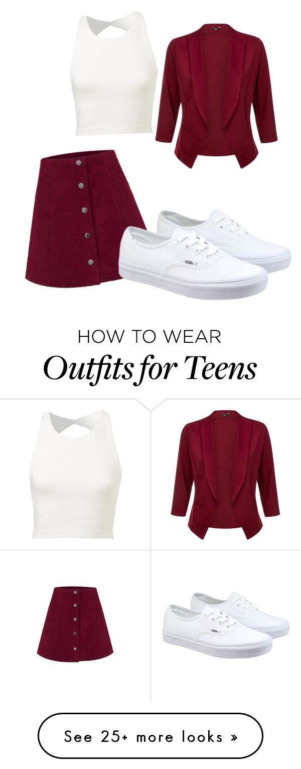 """""""Untitled #450"""" by heden-fun on Polyvore featuring Vans, women's clothing, women's fashion, women, female, woman, misses and juniors"""