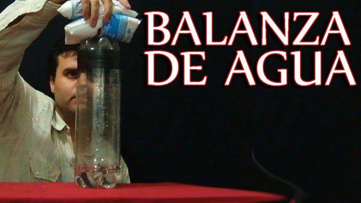 Balanza casera con 3 botellas de plástico (+lista de reproducción)