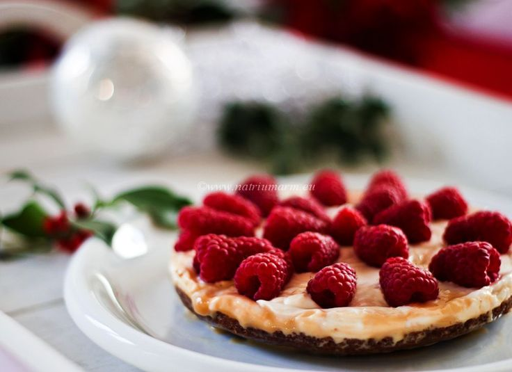Christmas menu, the finale: A Delicious Dulche de Leche cheesecake with Raspberries (in Dutch with translator)