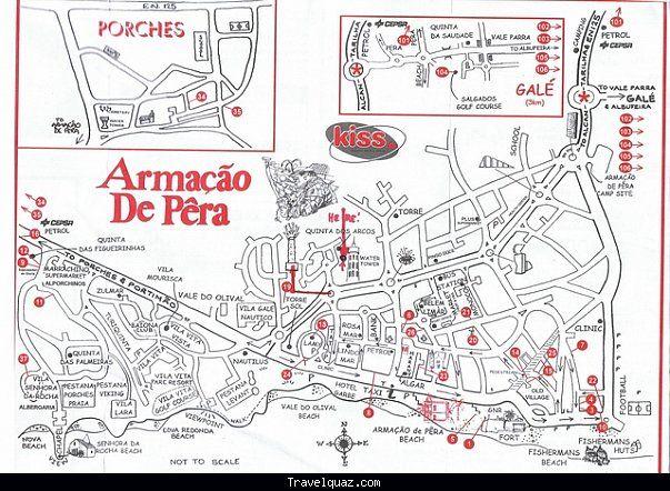 Map of Armacao de Pera - http://travelquaz.com/map-of-armacao-de-pera.html